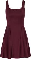 Alice + Olivia Sadie satin mini dress