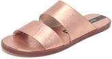 Matt Bernson Havana Metallic Slide Sandals