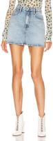 Acne Studios Bla Konst Marika Trash Skirt in Light Blue | FWRD