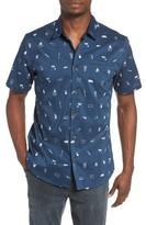 O'Neill Men's Grilled Print Woven Shirt