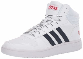 adidas Men's Hoops 2.0 Mid Basketball Shoe