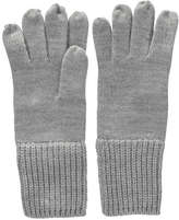 Joe Fresh Women's Ribbed Cuff Gloves, Grey Mix (Size O/S)