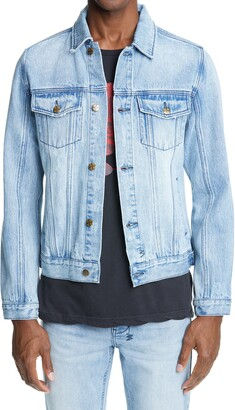 Ksubi Classic Distressed Denim Jacket
