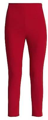 Safiyaa Women's Heavy Crepe Slim-Fit Pants