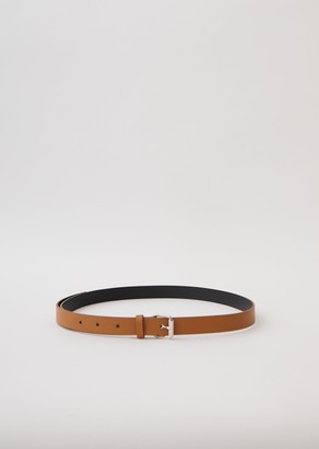 Sofie D'hoore Bi-Color Nappa Leather Belt