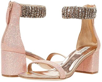 Badgley Mischka Gallia (Blush Pink) Women's Shoes