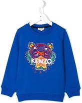 Kenzo Tiger sweatshirt - kids - Cotton - 2 yrs