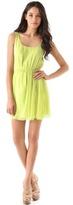 Alice + olivia Meghan Side Cinched Tank Dress