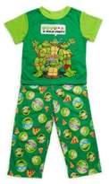 AME Sleepwear Little Boy's Two-Piece Printed Tee & Pants Set