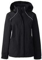 Lands' End Women's Regular 3 in 1 Squall Jacket-Zesty Orange/Soapstone