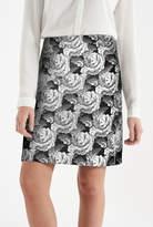 Ruby Rocks Jacquard Rose Skirt