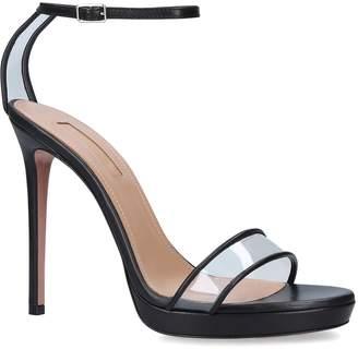 Aquazzura Leather Minimalist Sandals