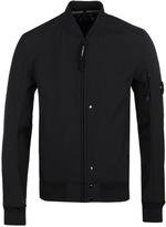 Cp Company Black Soft Shell Watchviewer Jacket