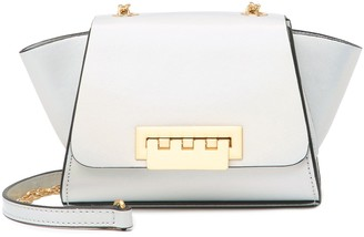 ZAC Zac Posen Eartha Mini Chain Metallic Leather Crossbody Bag