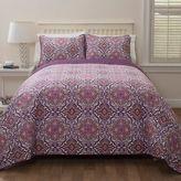 Arabel Full/Queen Quilt Set in Pink