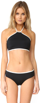 Kate Spade Plage Du Midi High Neck Bikini Top