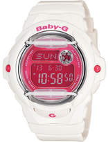 Baby-G Baby G Digital Series White With Pink Face + Face Guard