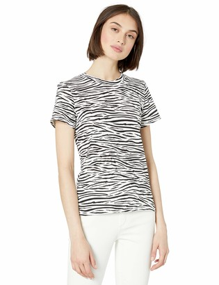 Enza Costa Women's The Perfect Zebra Tee XS