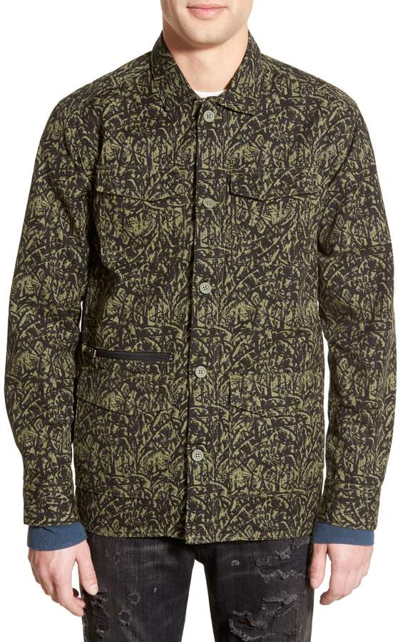 Tavik Isle Canvas Shirt Jacket