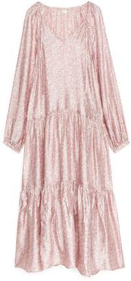 Arket Floral Maxi Dress