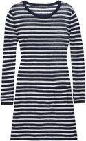 Fine Linen Stripe Dress
