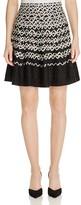 Nic+Zoe Geometric Chic Twirl Skirt