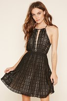 Forever 21 FOREVER 21+ Contemporary Floral Lace Dress