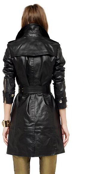 Juicy Couture Coated Denim Trench