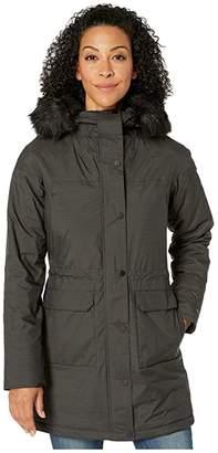 Columbia Hawks Prairietm II Jacket (Black Novelty Slub) Women's Coat