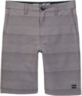 Billabong Crossfire X Hybrid Stripe Shorts (Big Boys)