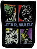 "Star Wars Pop Saga"" Classic Plush Raschel Throw Blanket"