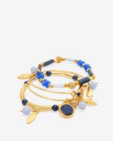 White House Black Market Semi-Precious Combo Stack Bracelet