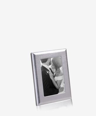 """GiGi New York 4"""" x 6"""" Profile Studio Frame, Metallic Leather"""