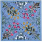 Gucci New Flora print silk scarf