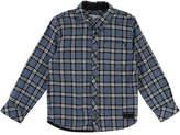 Little Marc Jacobs Long-Sleeve Flannel Shirt, Size 6-10