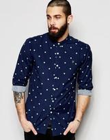 Farah Shirt with Polka Dot Slim Fit