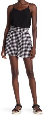 Abound Printed High Waist Shorts