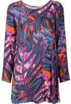 Mara Hoffman printed shift dress - women - Rayon/Viscose - M