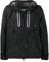 Hydrogen Worker camouflage padded jacket