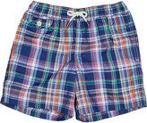 Ralph Lauren Traveler Checked Swim Shorts