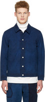 Blue Blue Japan Indigo Short Jacket