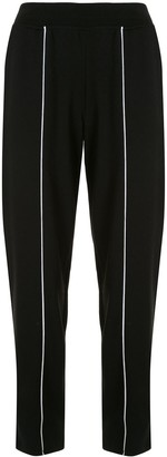 ATM Anthony Thomas Melillo Contrast Piped-Seam Track Pants