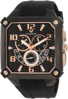 Rosegold Viceroy Men's 47639-95 Square Chronograph Date Rose-Gold Watch