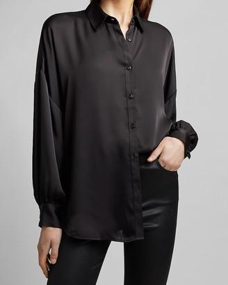 Express Drop Shoulder Button-Up Shirt