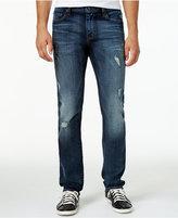 William Rast Men's Slim-Fit Dean Street Jogger Ripped Jeans