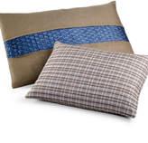 "Calvin Klein Home Bamboo Flowers 12"" x 16"" Decorative Pillow"