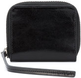 Rick Owens zip around wallet - men - Calf Leather - One Size