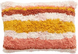 BP Stripe Shag Accent Pillow