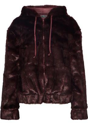 Yumi Walter Baker Faux Fur Hooded Jacket
