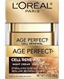 Age Perfect Cell Renewal Night Cream Moisturizer, 1.7 fl oz